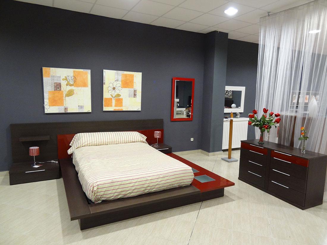 Dormitorio completo en roble f dor3 ornia home for Dormitorio completo