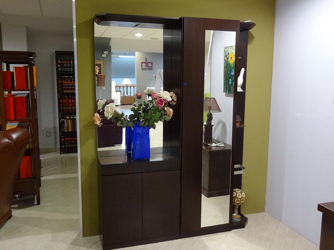 Mueble de estrada con armario f en2 ornia home - Recibidor con armario ...