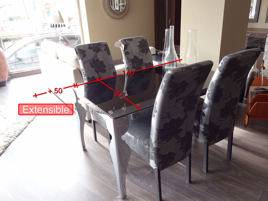 Mesa y sillas - medidas