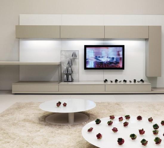 Ideas para organizar el salón en torno al televisor
