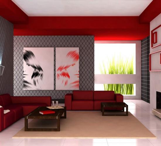 Prueba con el color en el hogar