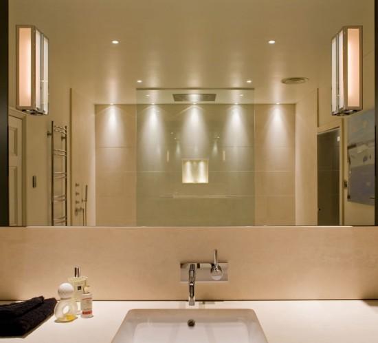 Iluminación para el baño