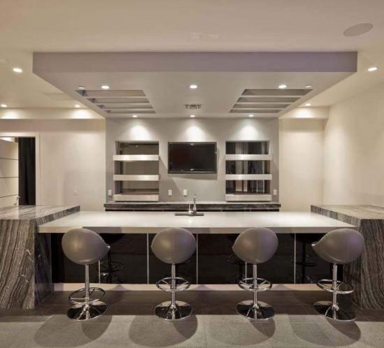 Mueble bar en casa