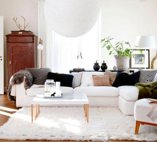 Equilibrar estilo y comodidad decoración