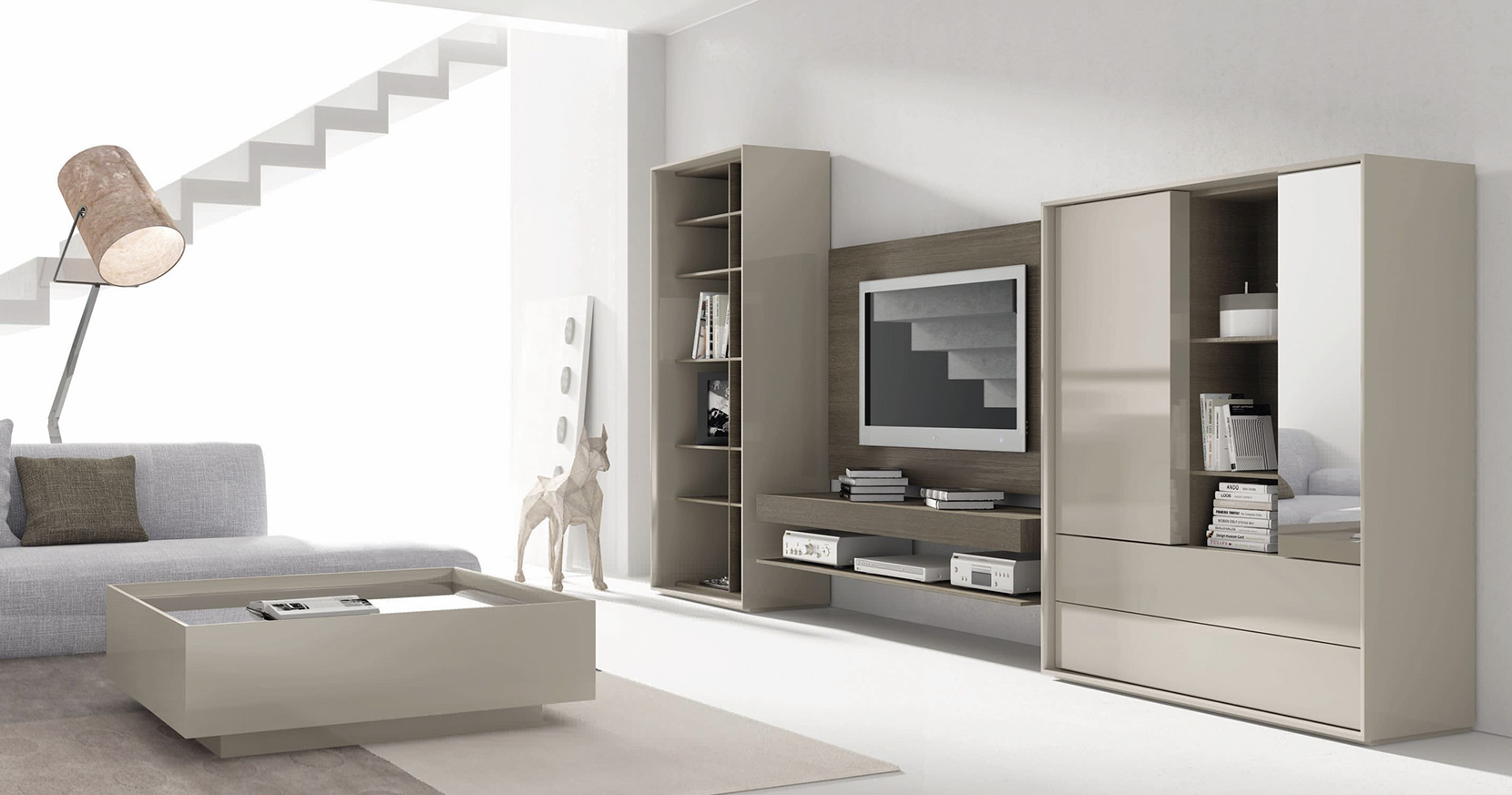 Escoger un mueble multimedia ornia home for Mueble tv multimedia