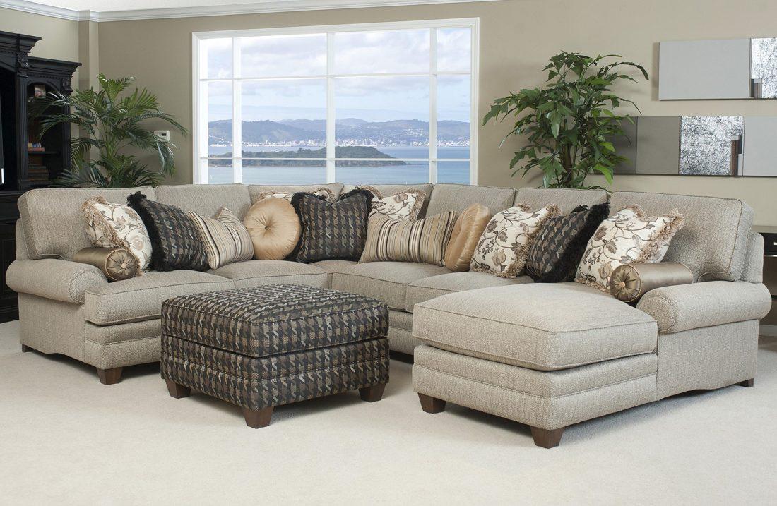 Escoger los cojines del sofá