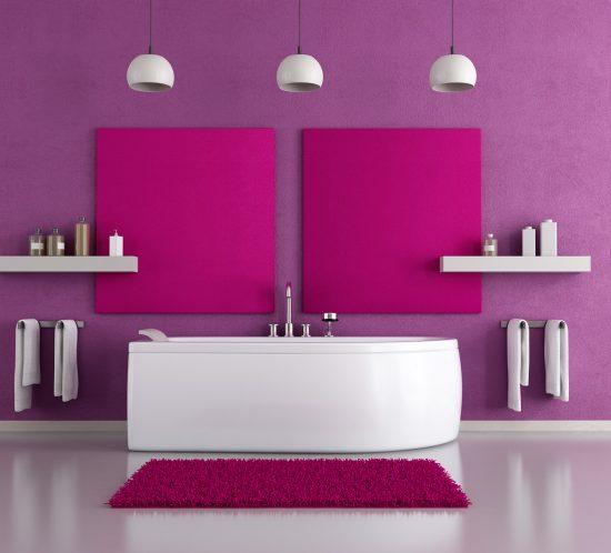 Colores en el cuarto de baño