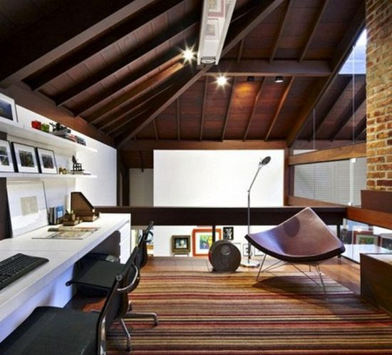 Una oficina productiva en casa